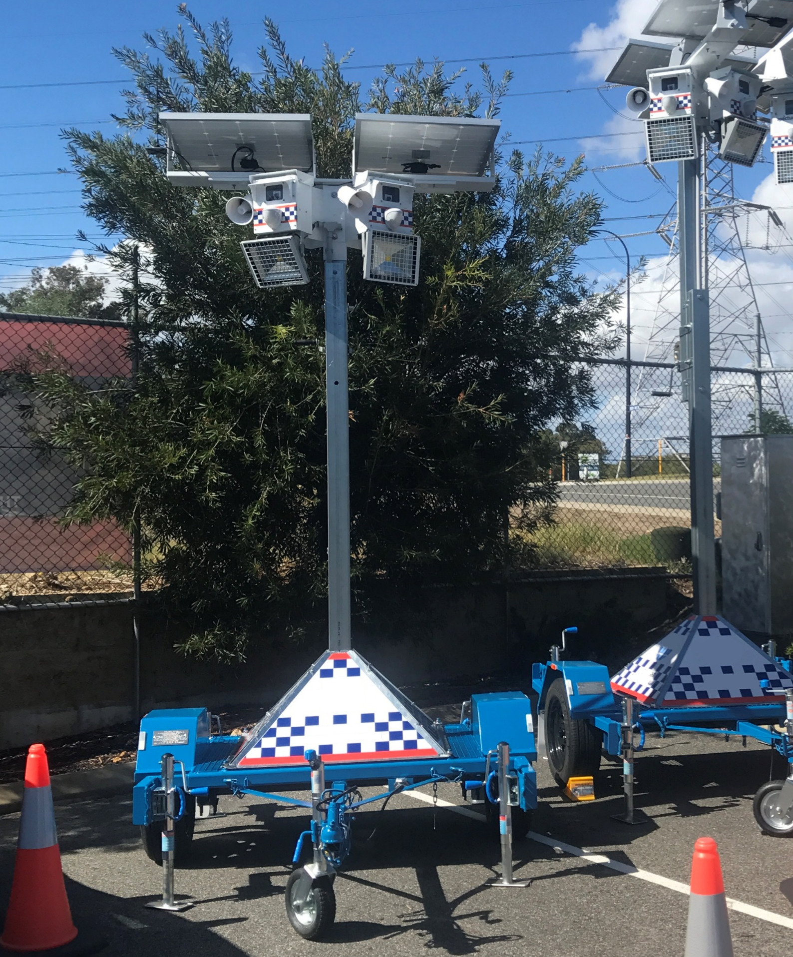 Solar-powered Mobile CCTV Camera Solution